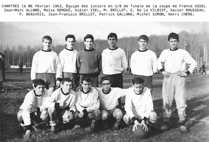 1963Coupe France foot